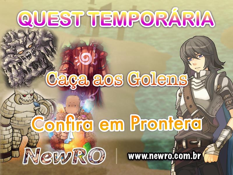 Nova Quest Temporária - Jager