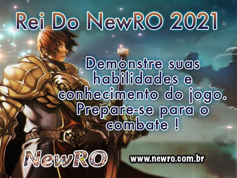 Inscrições Rei Do NewRO 2021